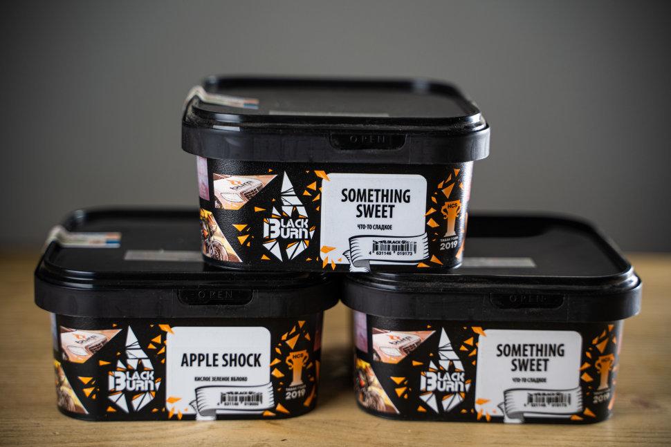 Табак Black Burn 200 гр Ice Baby feat Guf (Ягодный Сорбет с Грейпфрутом) купить в СПб по цене производителя